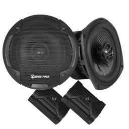 "BLACKSPL5.1 5.25"" 13cm 4Ohm Coaxial 2 Way Speaker Pair 320w RMS"