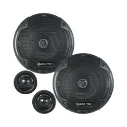 "BLACKSPL5C.1 5.25"" 13cm 4Ohm Component Speaker & Tweeter Kit 400w RMS"