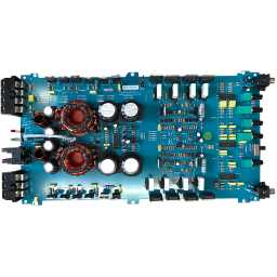 DB2.1S 2/1 Channel Class AB Bridgeable Stereo 12v Power Amplifier Complete Populated PCB Assembly 540W V1