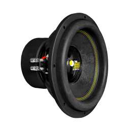 "IndyS12/2 12"" Premium Grade Medium Throw Deep Bass Subwoofer Optimised For Sealed Or Ported Enclosures."