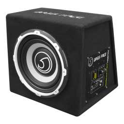 "POWER10.1 10"" Inch 25cm Subwoofer Unit With Integrated 12v Power Amplifier 500w RMS"