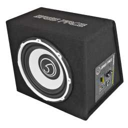 "POWER12.1 12"" Inch 30cm Subwoofer Unit With Integrated 12v Power Amplifier 650w RMS"