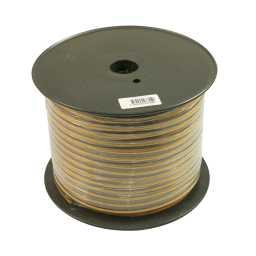 PSC12.1 75m Roll 12AWG 3.3mm 15% CCA Speaker Cable 287 Strand