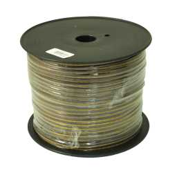 PSC16.1 150m Roll 16AWG 1.5mm 15% CCA Speaker Cable 112 Strand