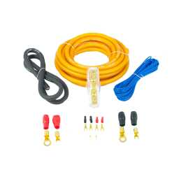 PWK4.1 4AWG 25mm High Flex 12v Amplifier Power Wiring Kit