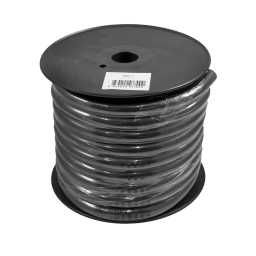 PWN0.1 15m Roll CCA 0AWG 53mm Black Negative Cable 4704 Strand