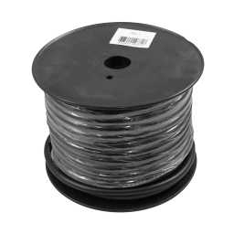 PWN4.1 30m Roll CCA 4AWG 21mm Black Negative Cable 1862 Strand