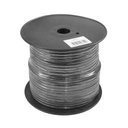 PWN8.1 75m Roll CCA 8AWG 8.4mm Black Negative Cable 728 Strand
