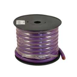 PWP00.1 15m Roll OFC 00AWG 53+mm Purple Power Cable 5929 Strand