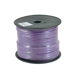 PWP8.2 75m Roll OFC 8AWG 8.4mm Purple Power Cable 728 Strand