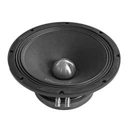 "SPL10M.1s 10"" 25cm 8Ohm SVC Cast Basket Midrange Bass Woofer Single 400w RMS"