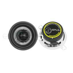 "SPL3.1 3.5"" 8cm 4Ohm Coaxial 2 Way Speaker Pair 100w RMS"