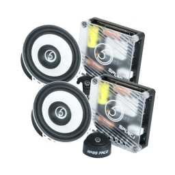 "SPL4C.1 4"" 10cm 4OhmComponent Speaker & Tweeter Kit 300w RMS"