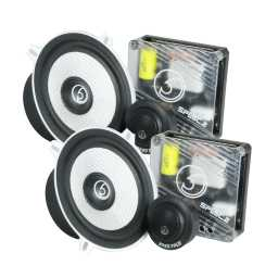 "SPL5C.2 5.25"" 13cm 4Ohm Component Speaker & Tweeter Kit 350w RMS"