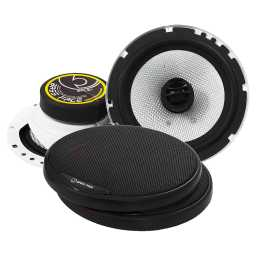"SPL6.1 6.5"" Inch 16.5cm 4Ohm Coaxial 2 Way Speaker Pair 300w RMS"