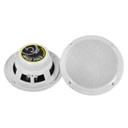 "SPL6.2 6.5"" 17cm 4Ohm Waterproof Coaxial Speaker Pair 150w RMS White"