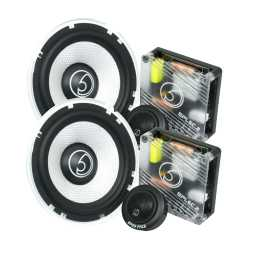 "SPL6C.2 6.5"" 16.5cm 4Ohm Component Speaker & Tweeter Kit 450w RMS"