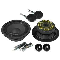 "SPL6C.3 6.5"" Inch 16.5cm 4Ohm Component Speaker & Tweeter Kit 400w RMS"