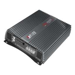 Team3000/2D Class D 2/1 Channel Bridgeable Stereo 12v Power Amplifier 3000w Verified RMS @13.8v 0.5%THD