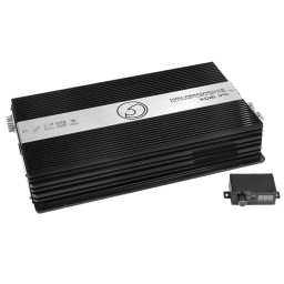XDB1.1FR 1Ohm Class D Monoblock Full Range 12v Power Amplifier 2470w Verified RMS Power Output